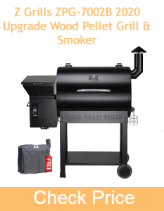 Z Grills ZPG-7002B 2020 Upgrade Wood Pellet Grill & Smoker