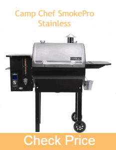 Camp Chef SmokePro Stainless | Best Budget Pellet Grill