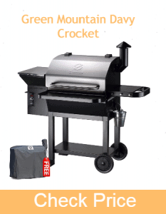 Green Mountain Davy Crocket | Best Grill for Camping and tailgating