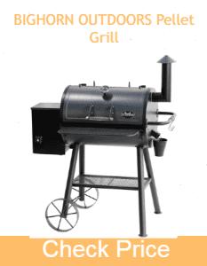 BIGHORN OUTDOORS Pellet Grill - Best Pellet Smoker for outdoor