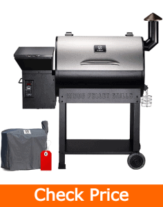 Z GRILLS ZPG-7002E 2020 Upgrade Wood Pellet Grill & Smoker - Best Overall pellet grill
