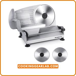 Meat Slicer, Anescra 200W Electric Deli Food Slicer