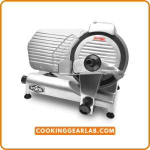 KWS MS- 10NT Premium Commercial 320W Electric Meat Slicer
