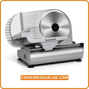 Meat Slicer, Techwood Electric Deli Food Slicer