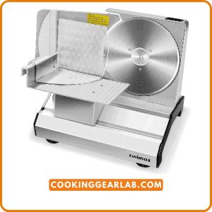 CUSIMAX Meat Slicer, Electric Deli Food Slicer