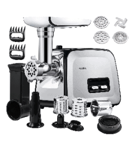 Electric Meat Grinder, Altra 3-in-1 Meat Mincer