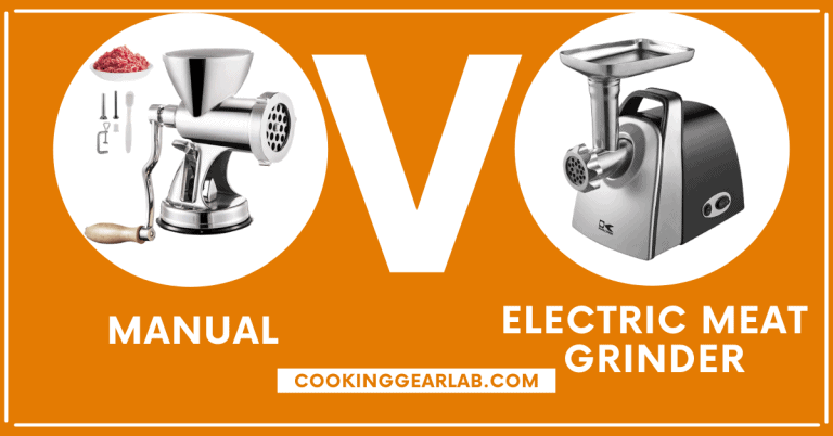 Manual vs. Electric Meat Grinder [Which is Best & Why] – CGL