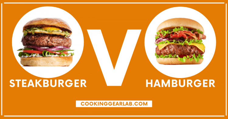 Steak burger vs Hamburger