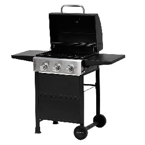 MASTER COOK Propane Gas Grill - Best Cooking Space Gas Grill under $200